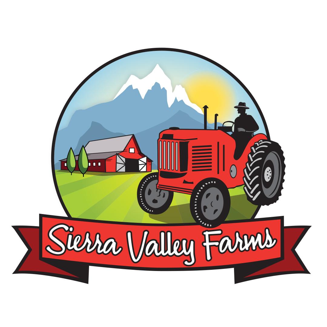 SierraValleyFarms_logo_icon_redbanner_blacktrim