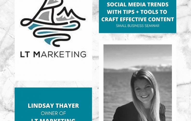 LT Marketing Small Business Seminar | Social Media Trends with Tips + Tools to Craft Effective Content